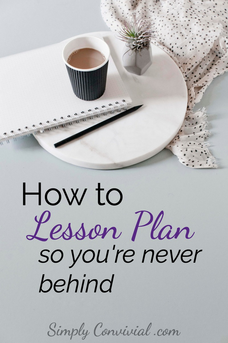 Write homeschool lesson plans that are easy to follow, simple, and never out-of-date. Beat discouragement by never being