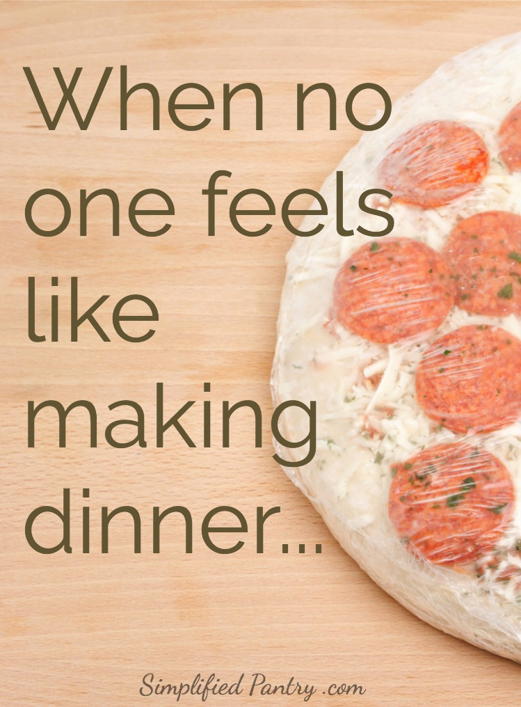 What's a busy family to do when no one feels like making dinner?