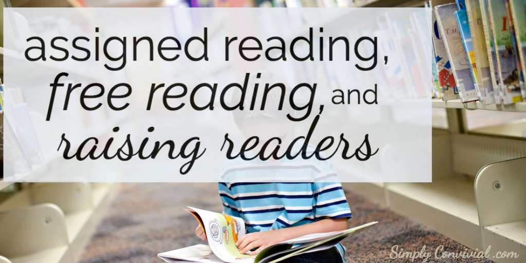 Assigned reading, free reading, and raising readers