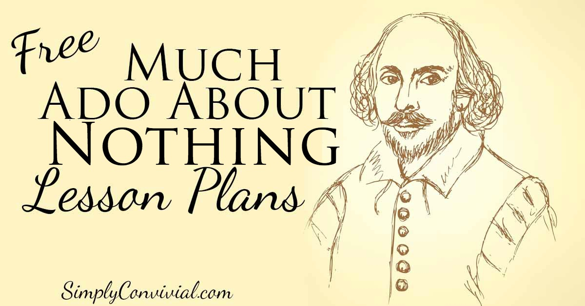 Lesson Plans for Much Ado About Nothing