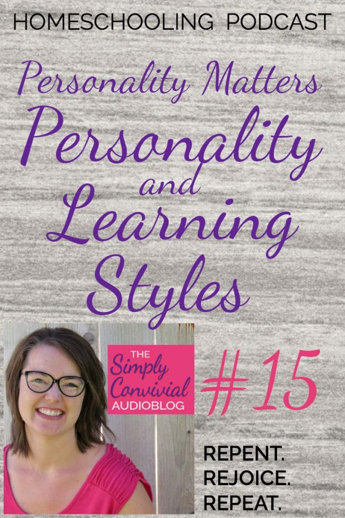 SC015: Personality & Learning Styles