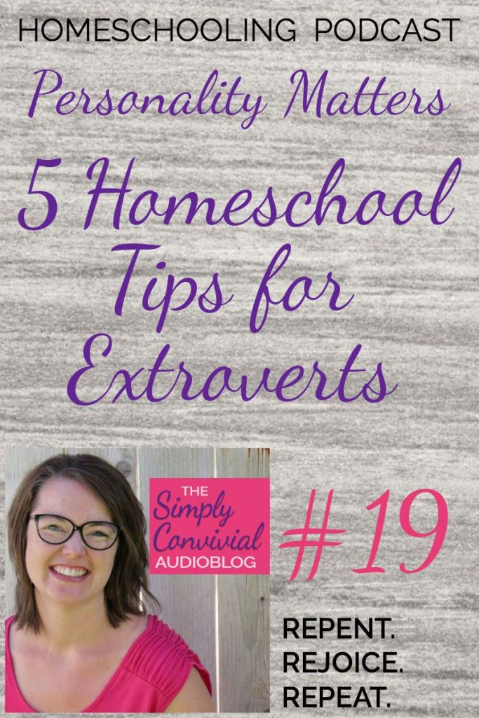 SC019: 5 Homeschooling Tips for Extroverts