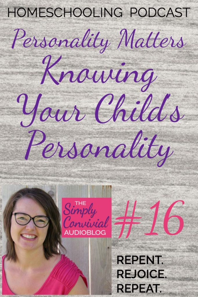 SC016: Knowing Your Child's Personality