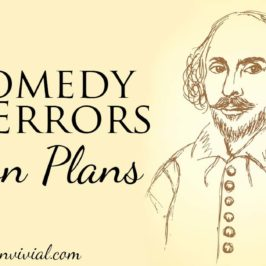 Lesson Plans for The Comedy of Errors