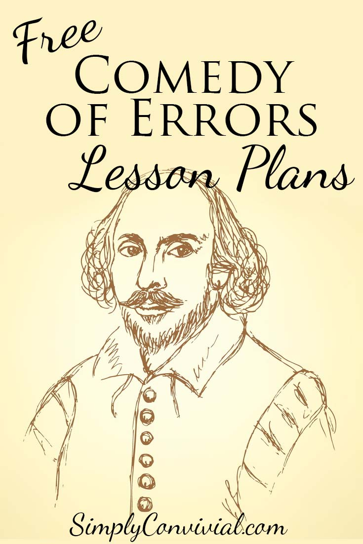 Free Comedy of Errors Lesson Plans