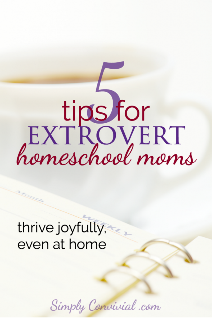 5 tips for an extrovert homeschool mom
