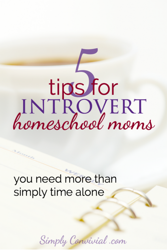 5 tips for an introvert homeschool mom