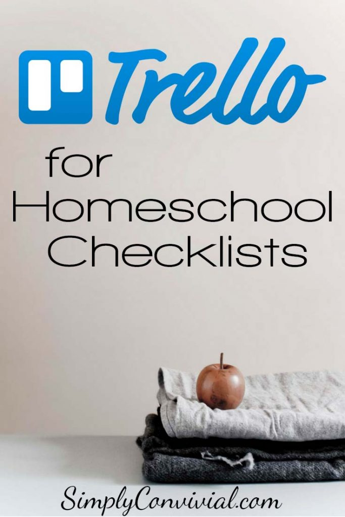 Some people use spiral notebooks for a daily list; we use Trello for weekly lists. Here are the details and even some video tutorials to get you started! It's our free online homeschool student planner that everyone loves and simplifies our lives.