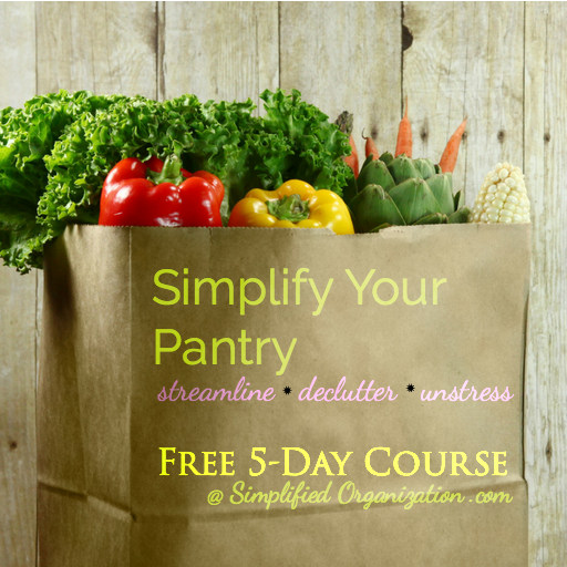 Simplify Your Pantry - Free Email Course!