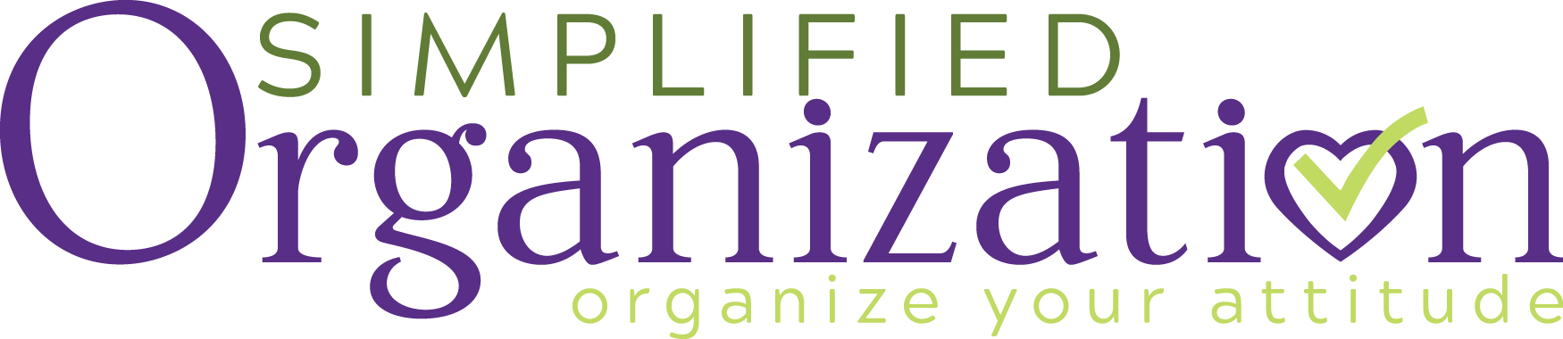 Simplified Organization