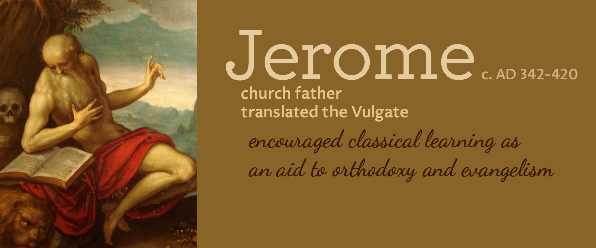 Jerome on classical education