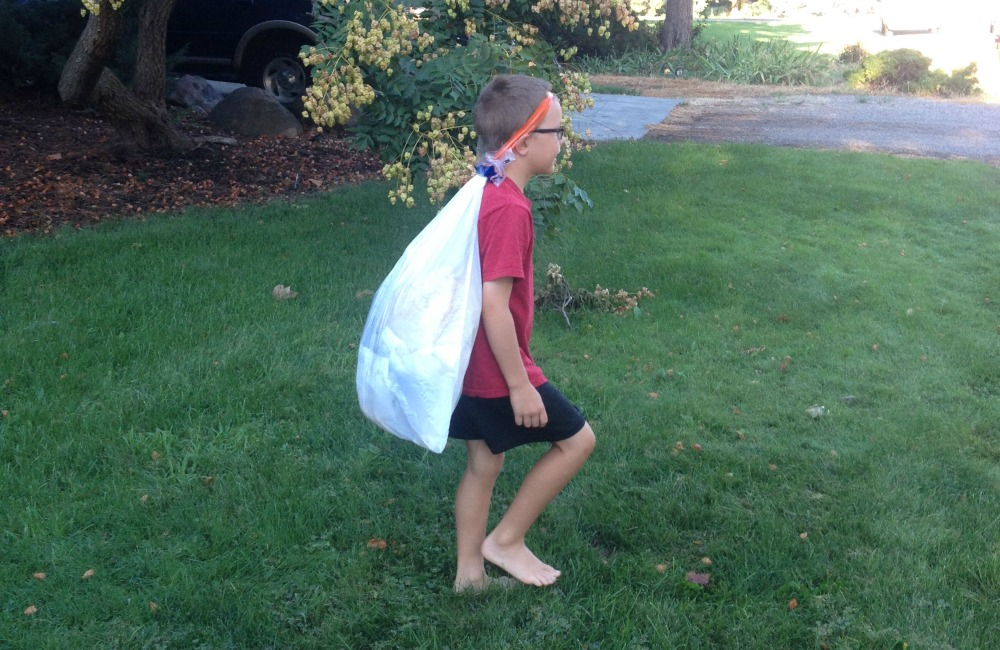 morning chores are in the homeschool schedule