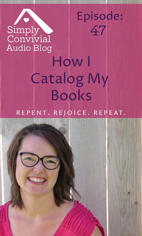 How I Catalog My Books