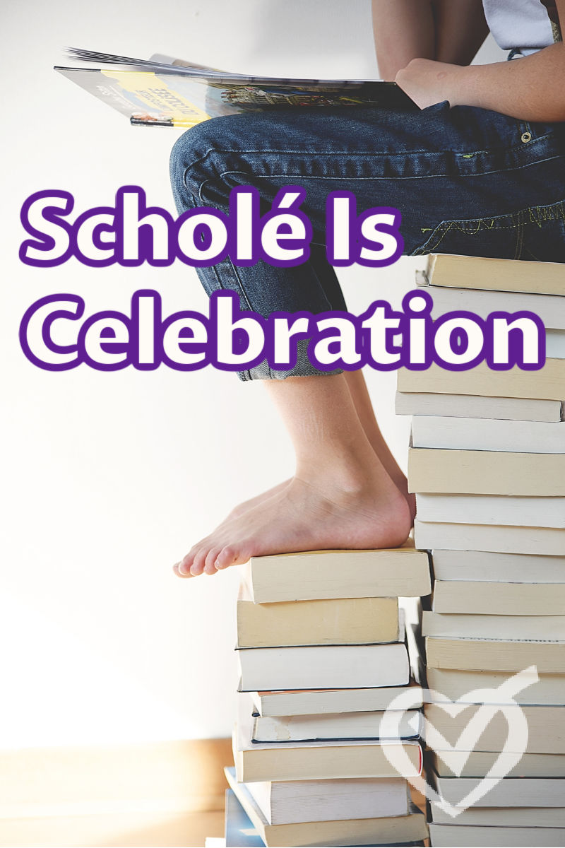 We want scholé and to teach from rest, but when we realize it requires work, we can think we are doing it wrong. You're probably not. It's a gift of service we offer.