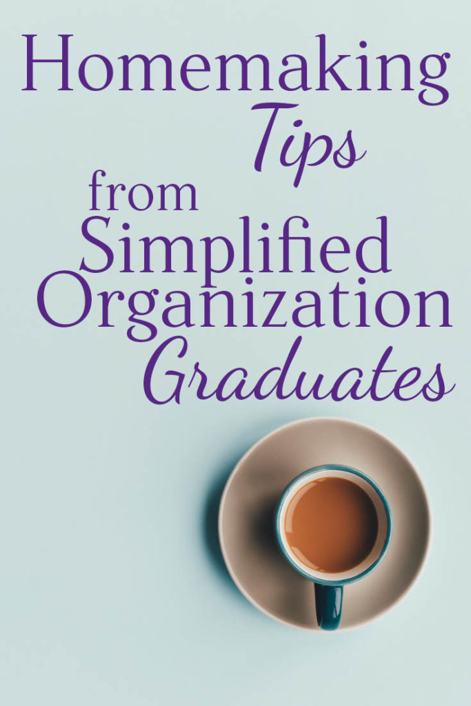 Life Management Tips from Simplified Organization Members