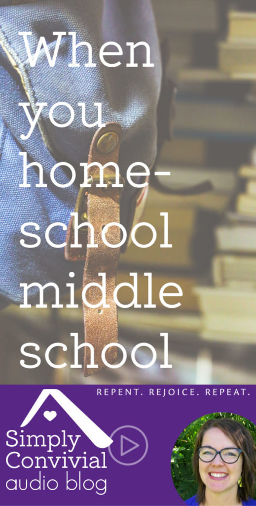 #076: Homeschooling Middle School Boys