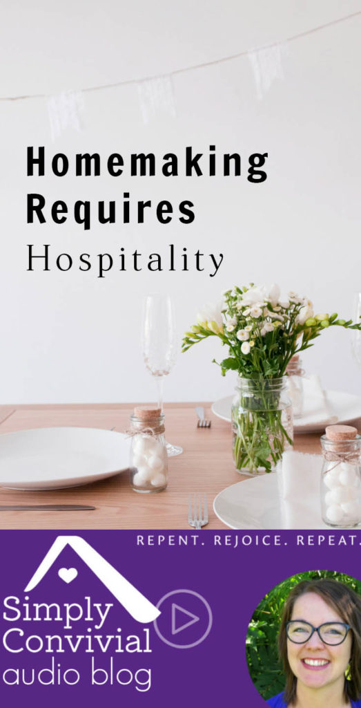 #083: Homemaking requires hospitality.