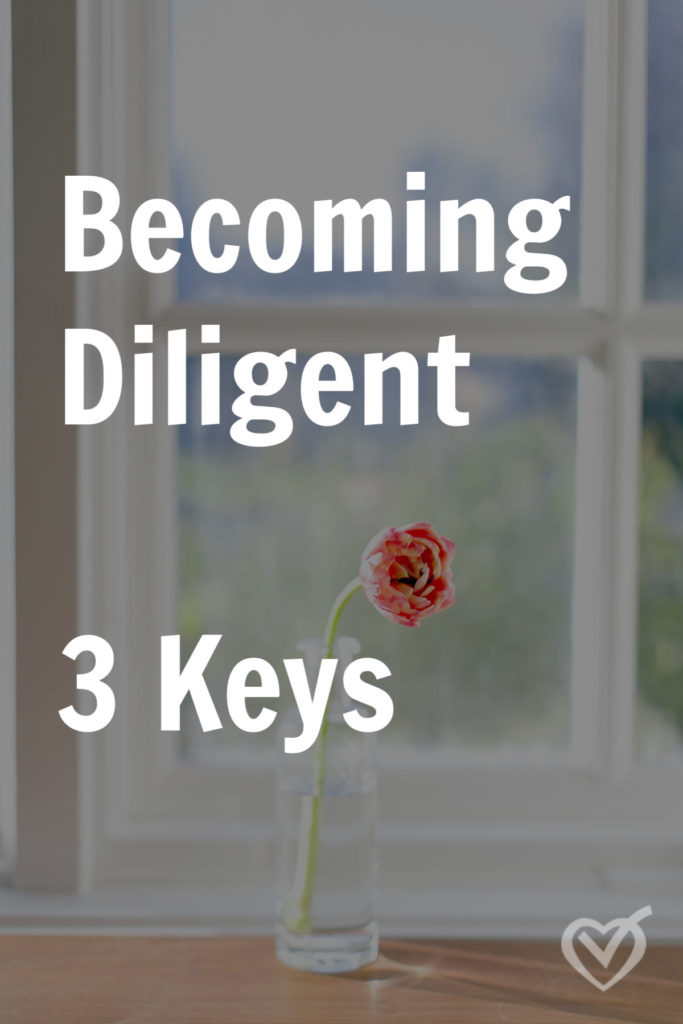Becoming Diligent: 3 Keys