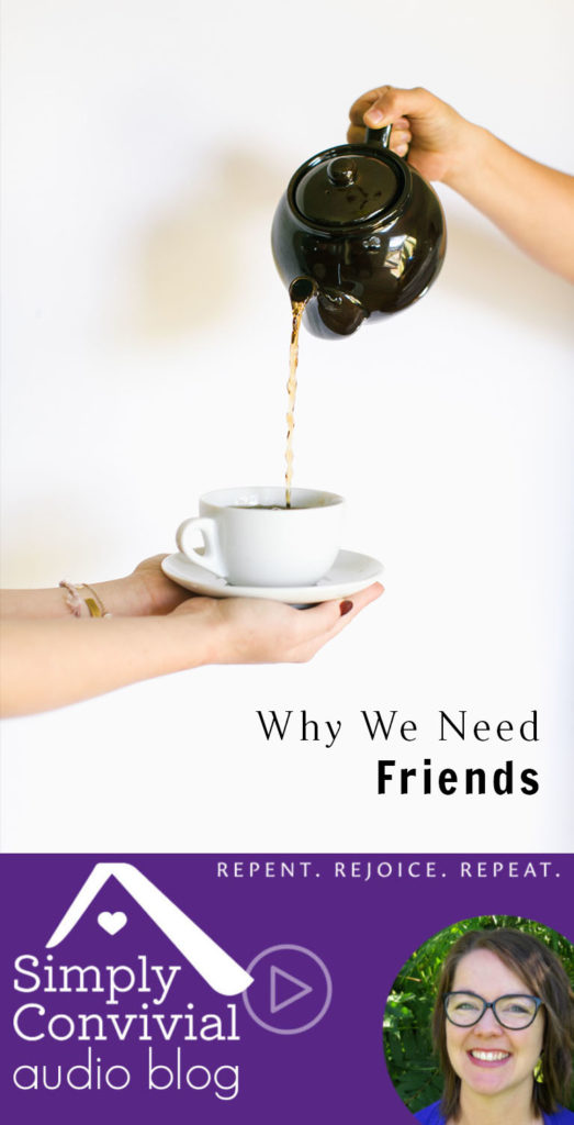 #089: Why we need friends