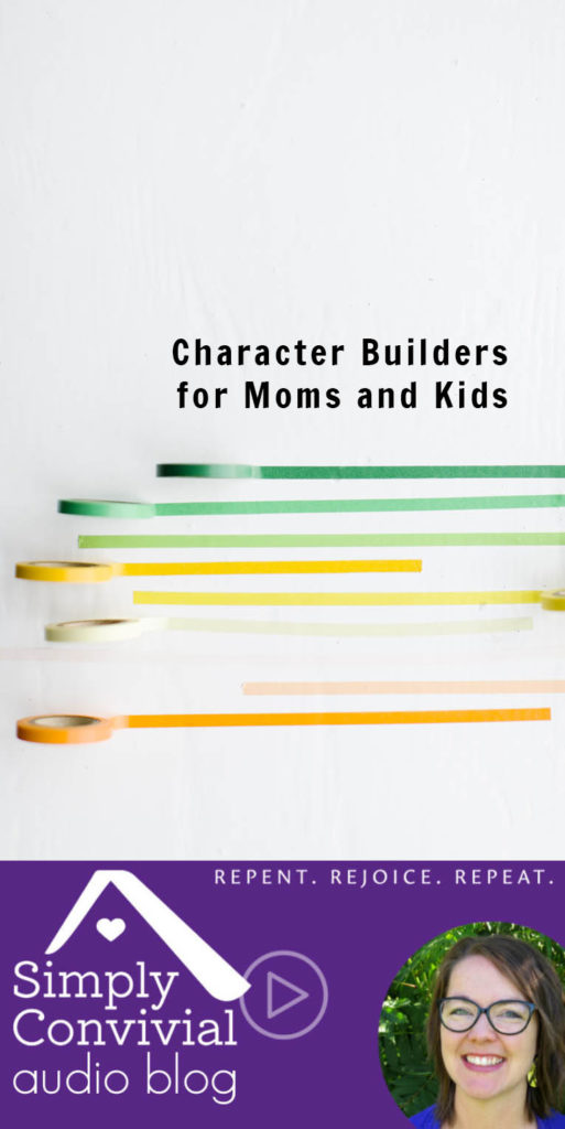 #093: Character builders for mom & kids