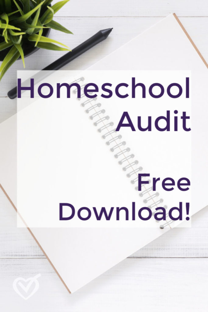 Take a Homeschool Audit
