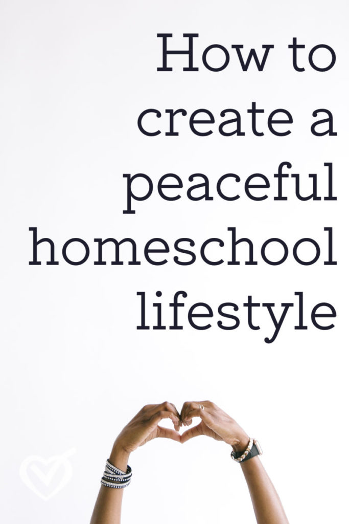 Living a Homeschool Lifestyle