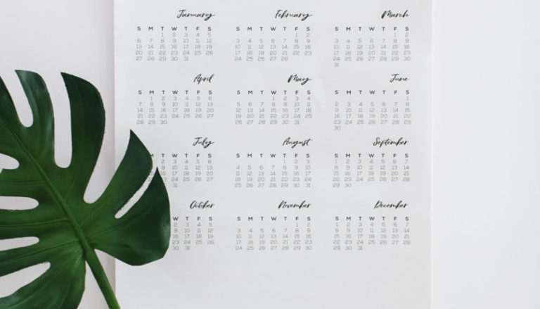 How to organize your calendar – the essentials
