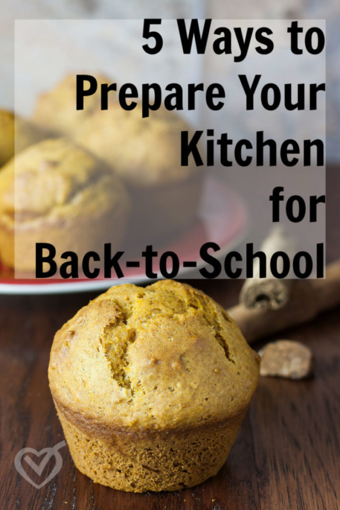 Taking a bit of energy up-front to prepare your kitchen for back-to-school will help you stay calm and consistent as you begin the new year.