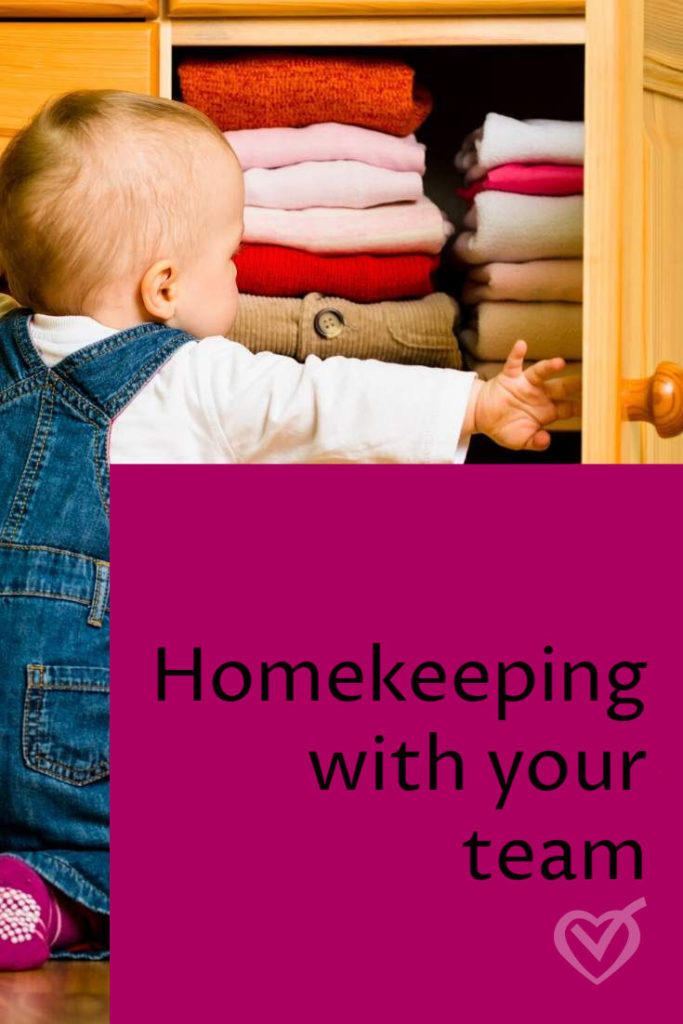 Homekeeping takes a team – build yours!