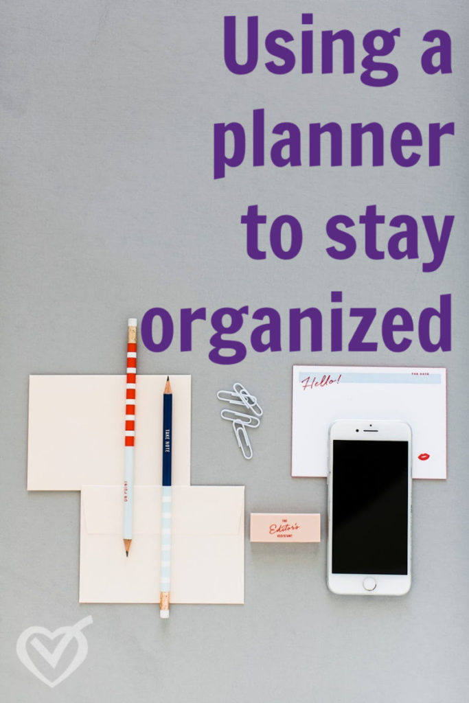 These 3 tips will help you use a planner to stay organized.