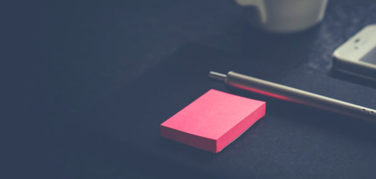What's Working Now: Post-It Planner