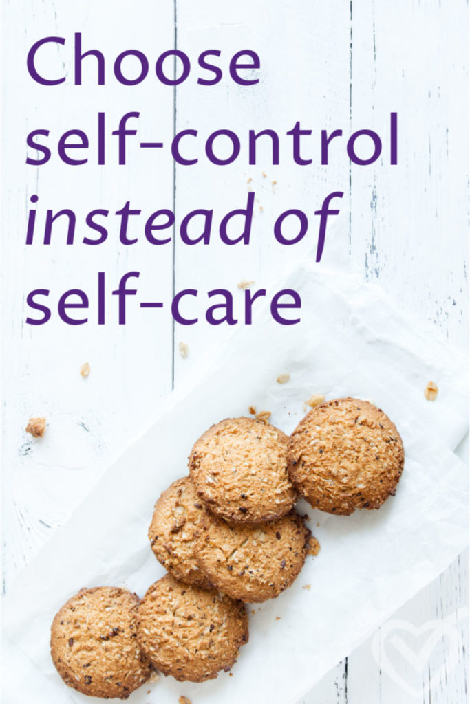 self-care doesn't work