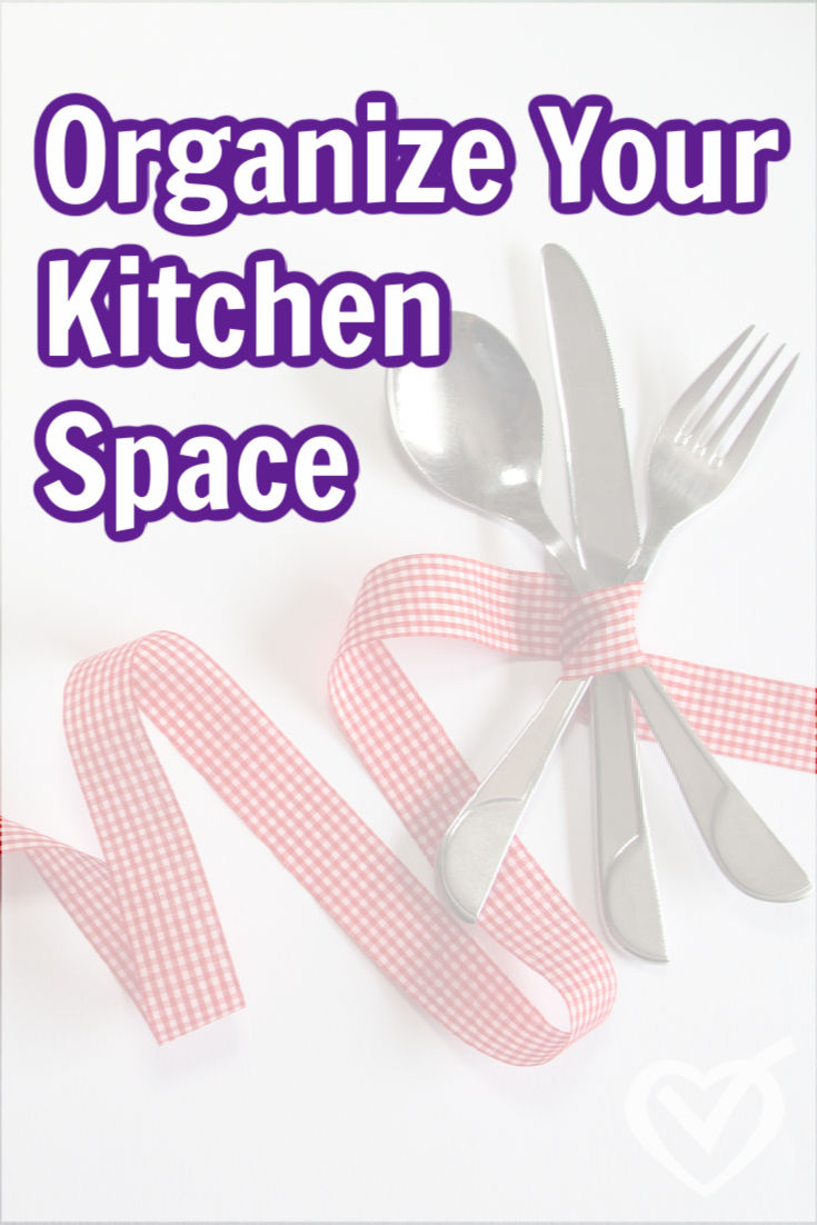 The kitchen is one of the most used spaces in our homes. These five steps will help you organize your kitchen space in a way that works for you.