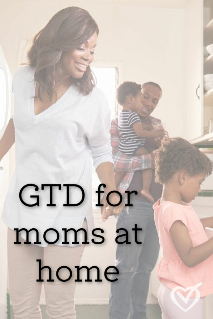 If anybody needs to get things done, it's mothers managing a home. Learn the systems and the habits to get back on track and moving forward.