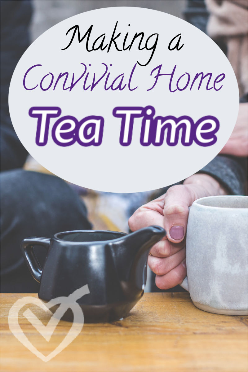 I needed a way to communicate to my kids that I want to talk with them. Enter tea time, a time to hear what my children are reading and interested in.