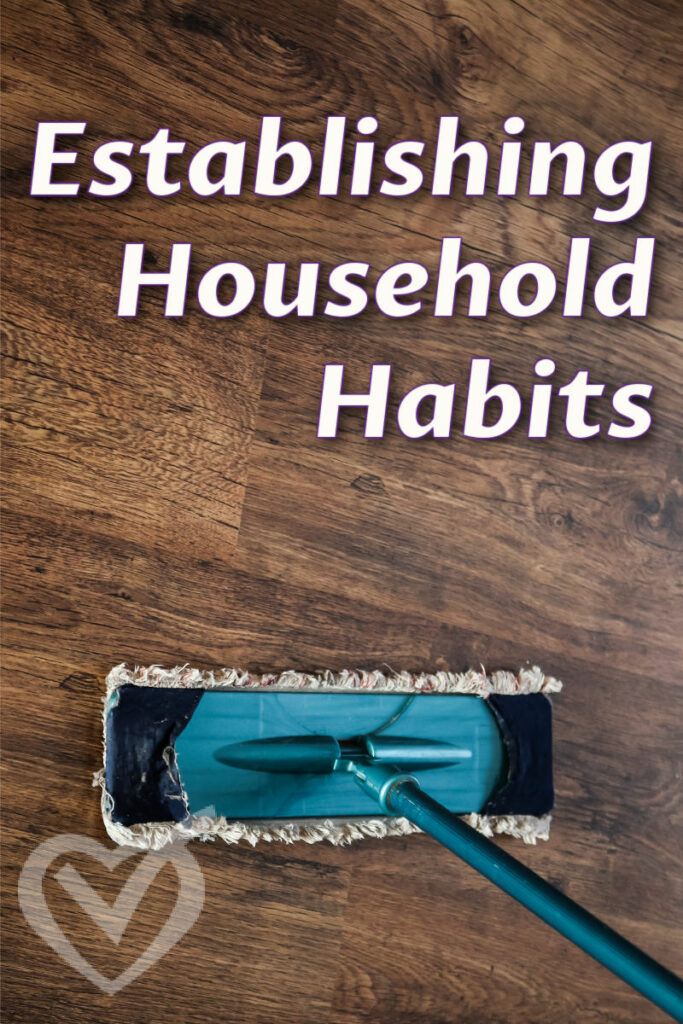 It is worth the time and effort to build better home habits, but it is a process and a journey. Today, I share mine.